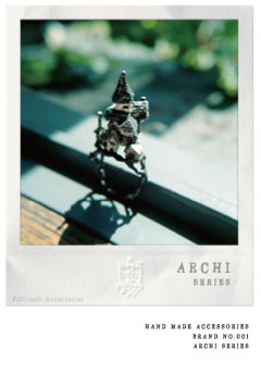 hand made accessories BRAND no.001 ARCHI series